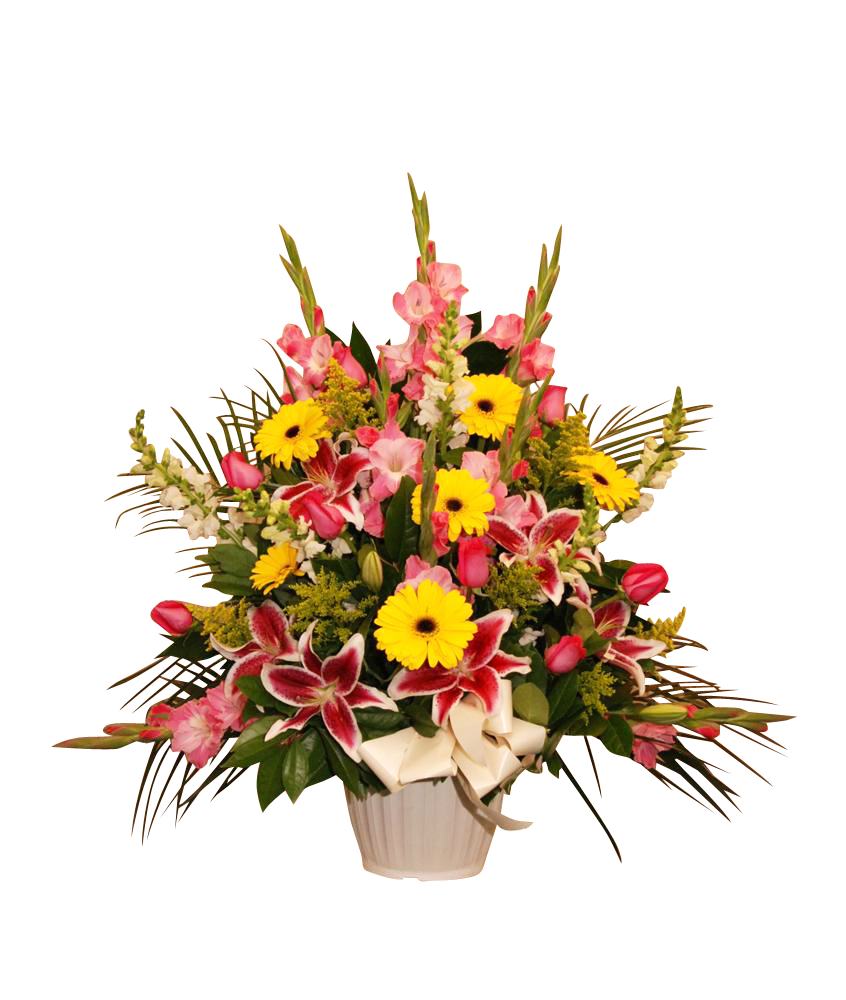 Mixed Flower Tribute Large